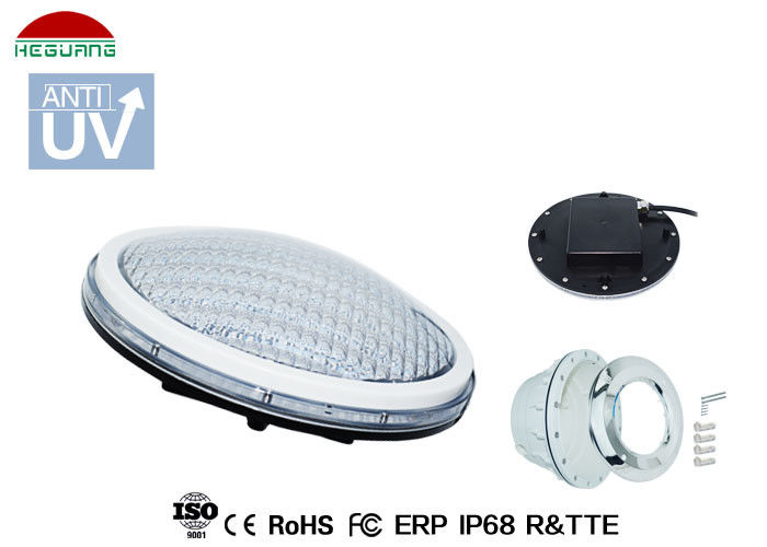 Luz blanca de la piscina del color 18W IP68 LED, luces impermeables para la piscina