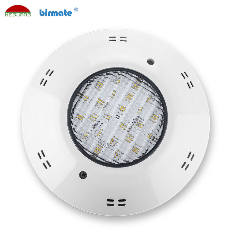 Pure White 6500K IP68 12V ABS LED Surface Mounted Pool Lights Underwater Swimming