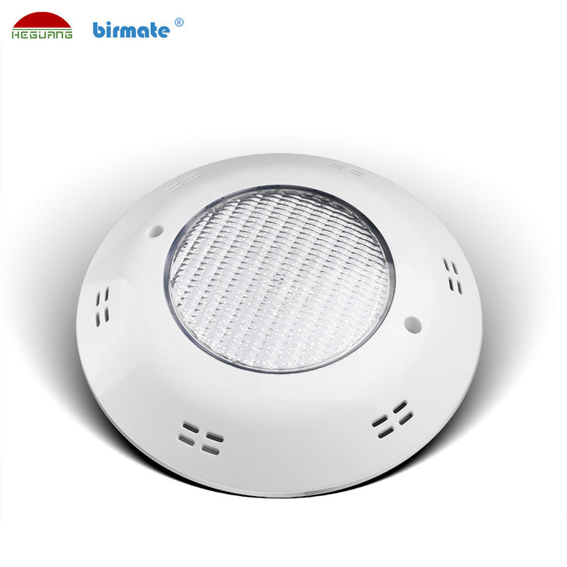 Anillo del color LED del ABS IP68 RGB, prenda impermeable colorida de las bombillas de la piscina de 18W LED